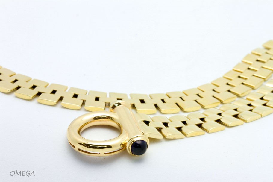 Westchester Gold Omega Style Link 14K Necklace sold by weight