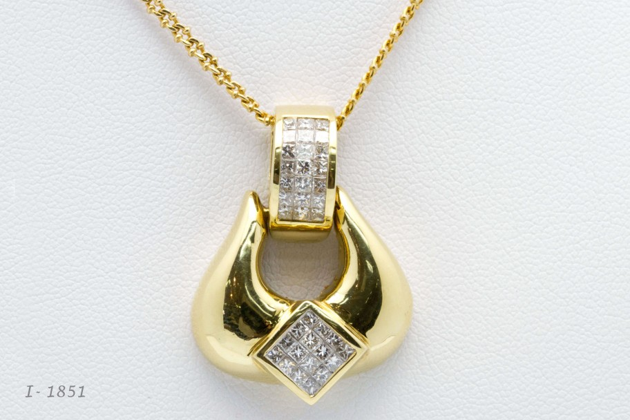 Westchester Gold 18K Yellow Gold 1.40 CTW I-1851