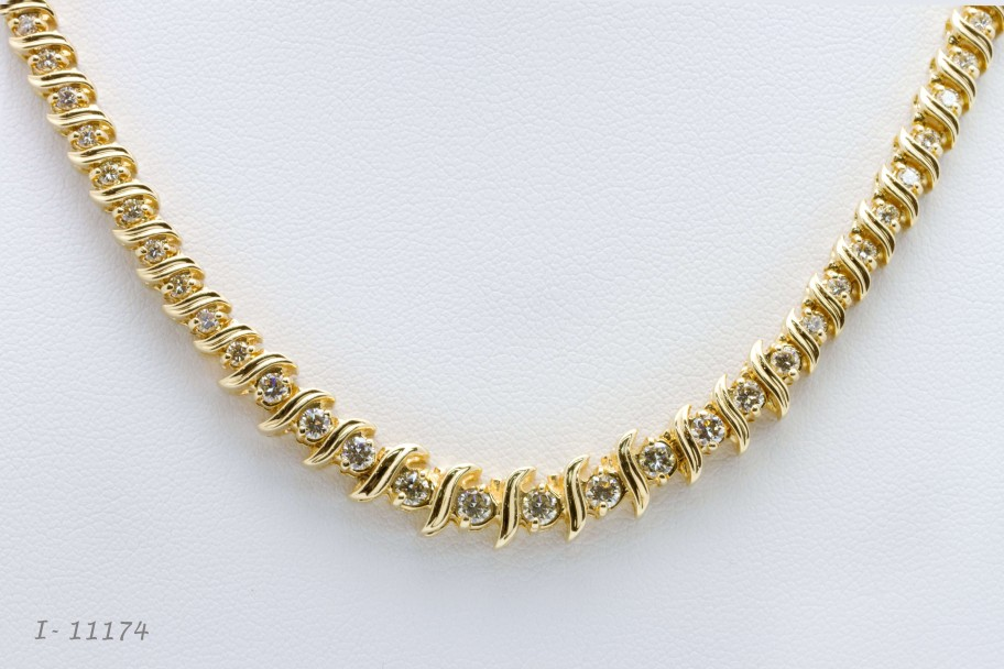 Westchester Gold14K Yellow Gold 5 CTW S Link Necklace I-11174jpg